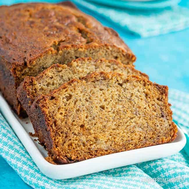 How To Make Moist Banana Bread Love From The Oven