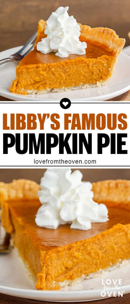 Several images of pumpkin pie