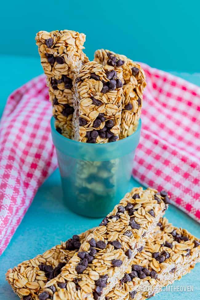 Several granola bars