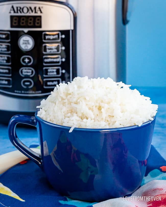 Rice and Rice cooker