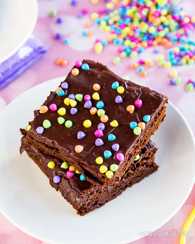 A stack of cosmic brownies