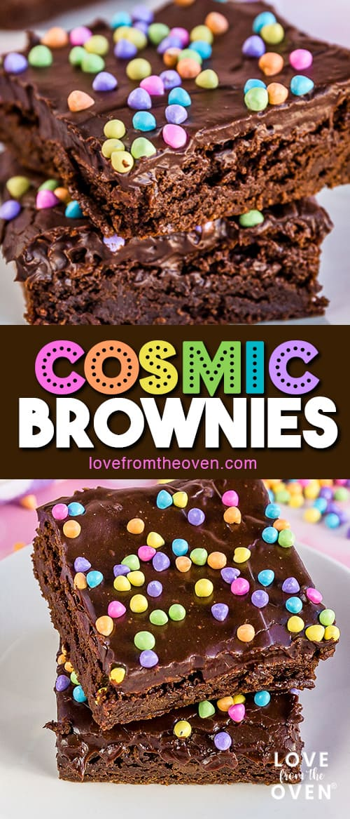 Several images of cosmic brownies