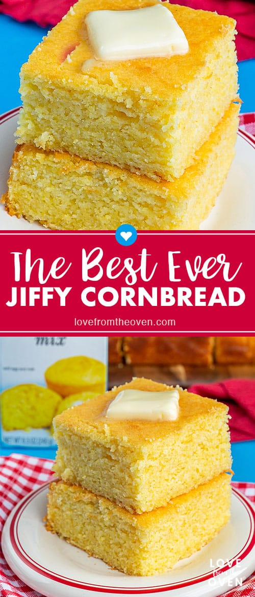 Several images of cornbread