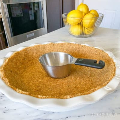 Lemon pie crust