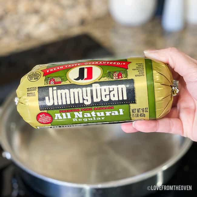 Jimmy Dean sausage