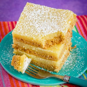 Stack of gooey butter cake