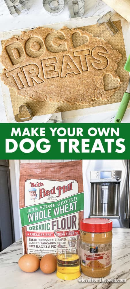 Homemade dog treat ingredients