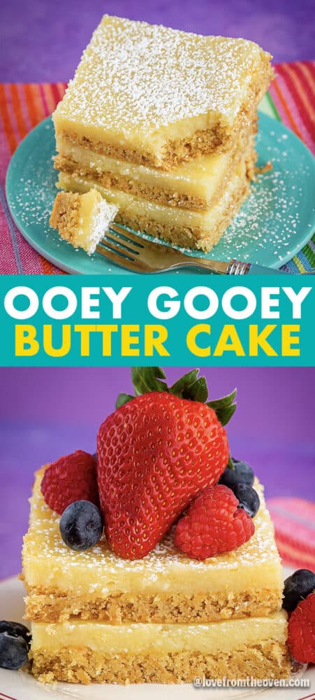 Photos of ooey gooey butter cake