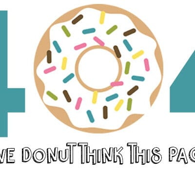 A graphic of a donut