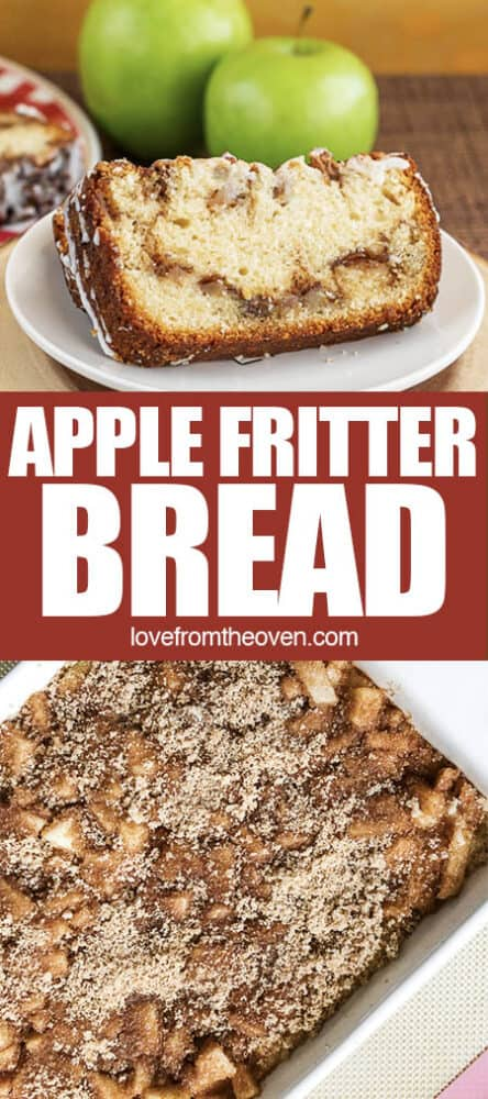 pictures of apple fritter bread