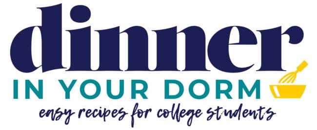 dinner in your dorm logo