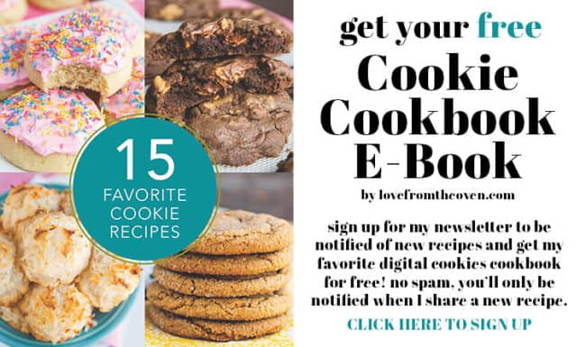 graphic for a cookie cookbook