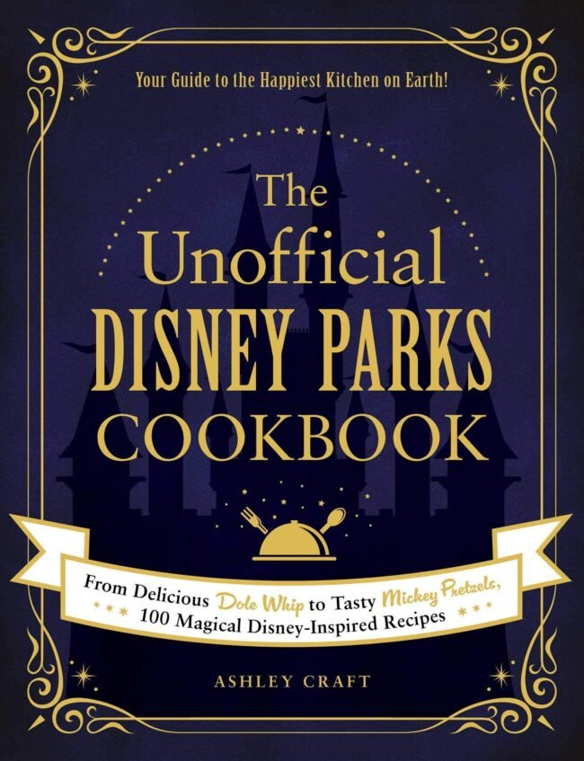 Cover of a disney parks cookbook