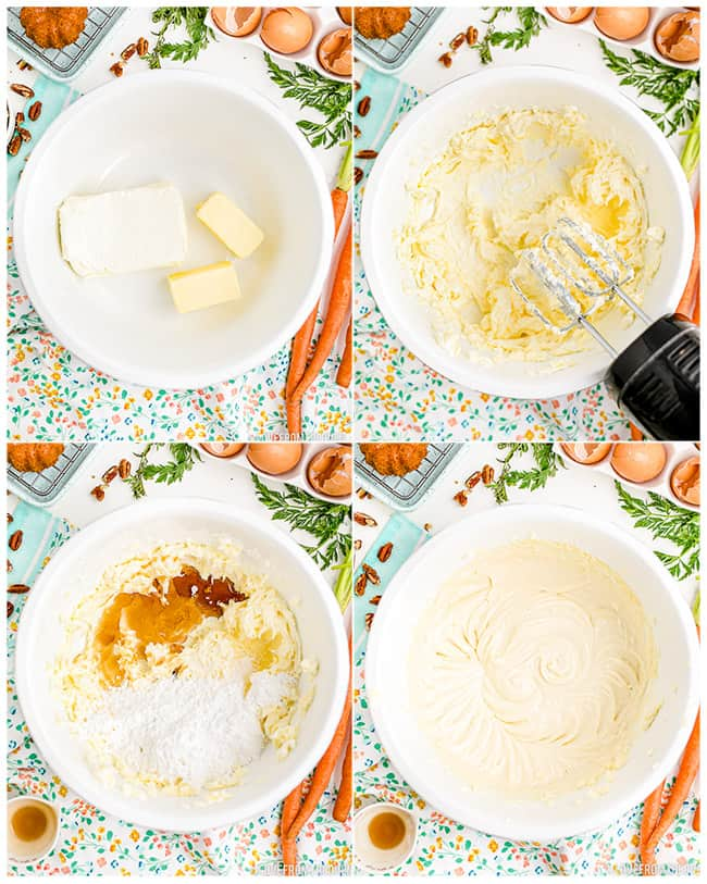 step by step photos making cream cheese frosting