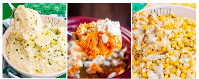 photos of foods in crock pots
