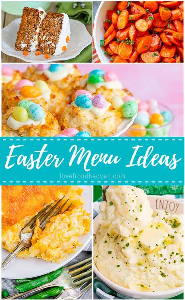 photos of different easter dinner recipes