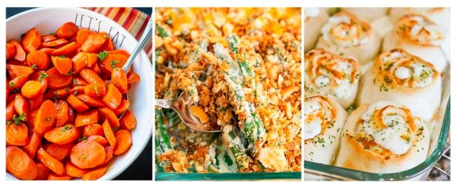 photos of side dishes