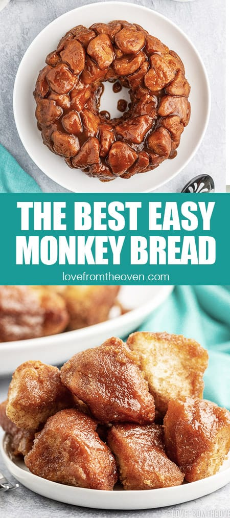 photos showing how to make monkey bread