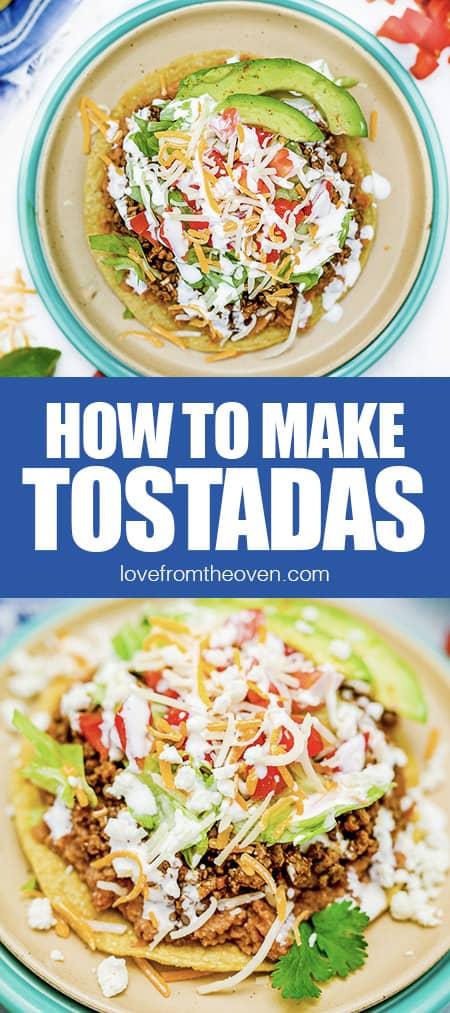 photos of tostadas