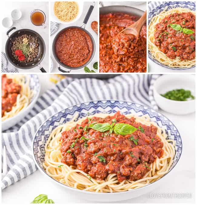 photos of spaghetti sauce