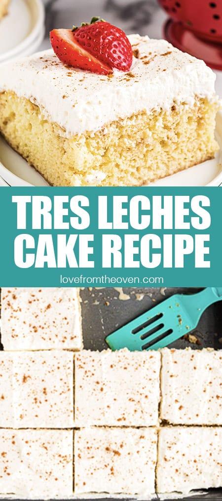 photos of tes leches cake
