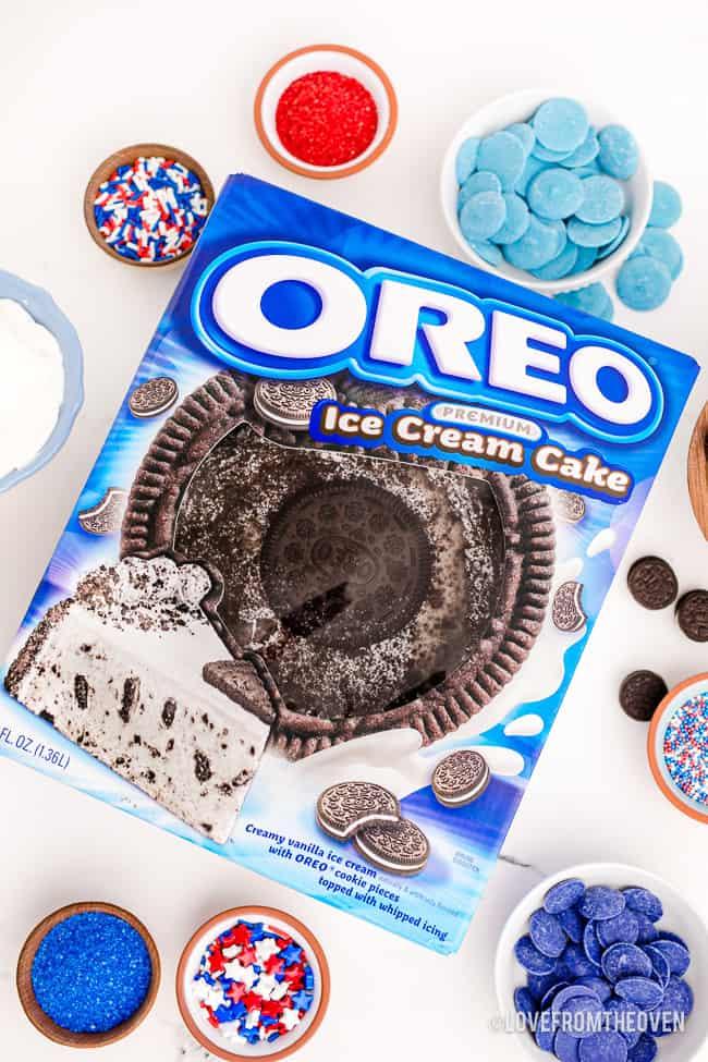 Carvel oreo ice cream cake