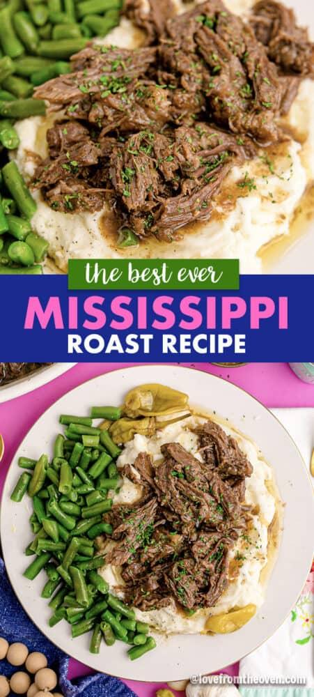 Mississippi pot roast photos