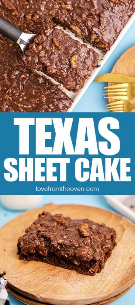Photos of Texas Sheet Cake.